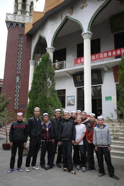 Muslim student in Xining, Qinghai