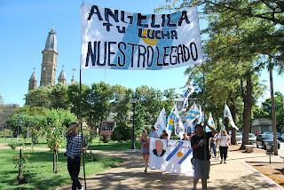 Estela y La Cámpora en Ayacucho