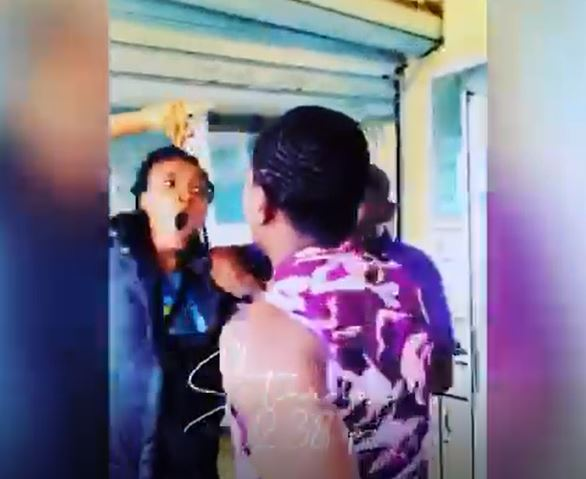 Mopol Slaps Suruche's Girlfriend At Atican Beach Resort Hotel In Lagos (Photos)