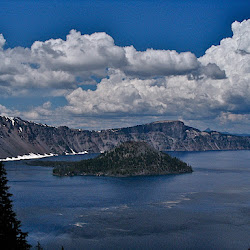Crater Lake with Phil Miller 7/2