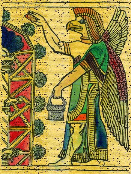 Nisroch, Gods And Goddesses 6