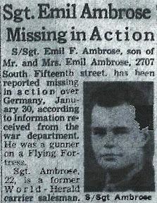 Staff Sergeant Emil Ambrose