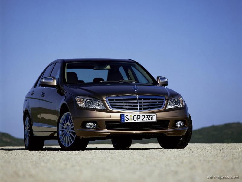 2008 mercedes benz c class sedan specifications pictures for Mercedes benz c class 2008 price