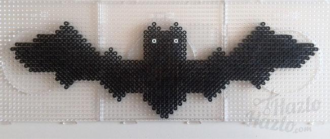 Murciélago de Hama Beads