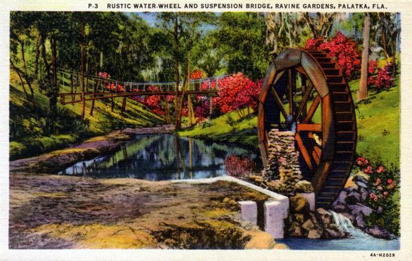 Gogardennow Behind A Garden Wall Ravine Gardens State Park Palatka Florida