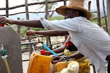 Zde si mohou místní obyvatelé natočit vodu dvakrát za den ve stanovenou hodinu. (Foto: Monika Ticháčková)