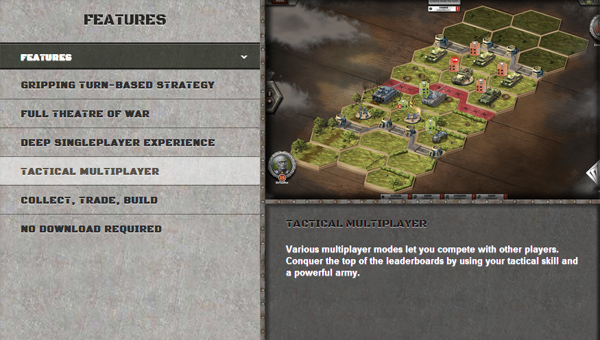 Panzer General Online thử nghiệm Closed Beta 1