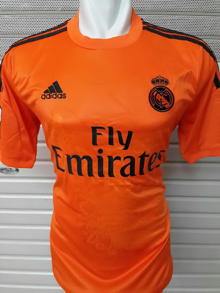 Jual Jersey Kiper Real Madrid Orange 2014-2015