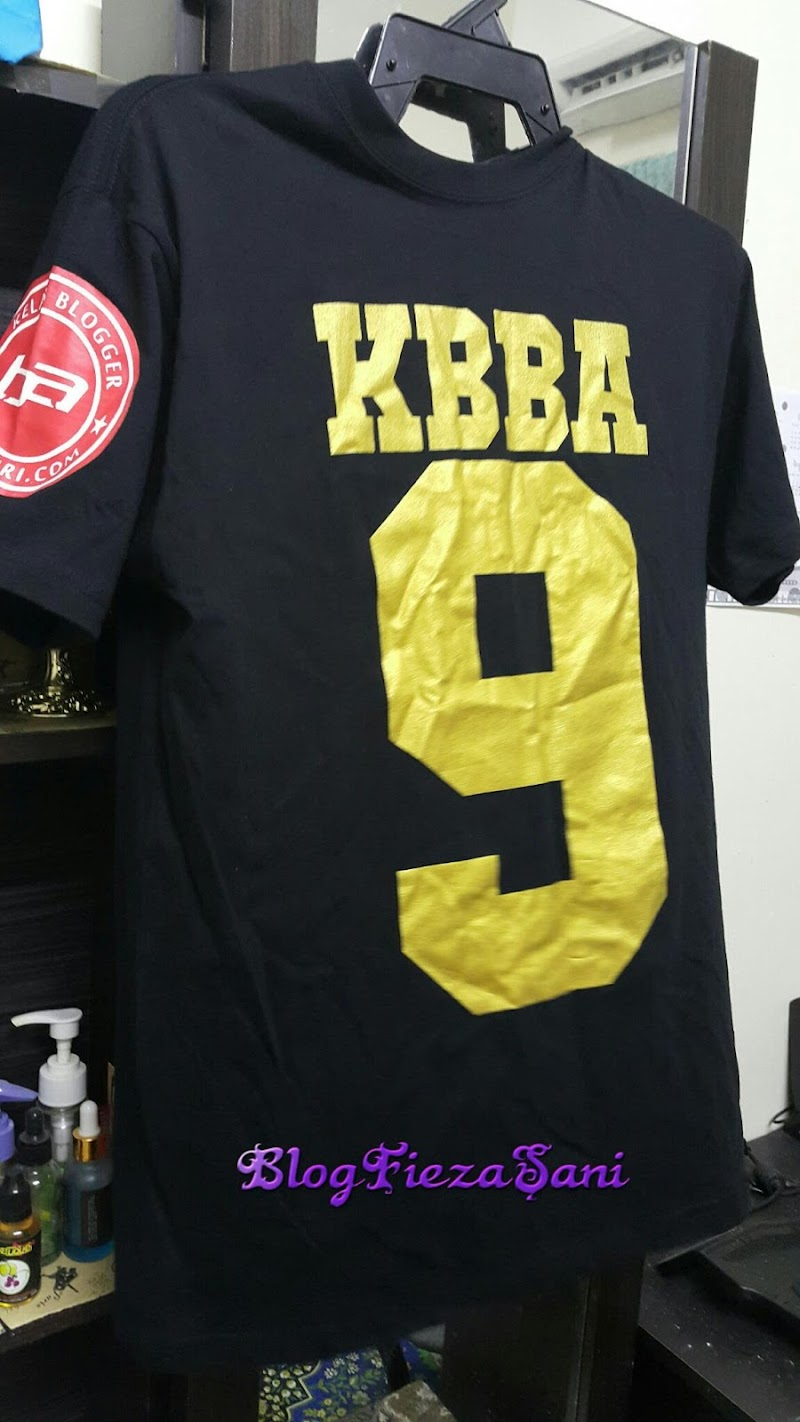 Yeay!!!dapat dah t-shirt KBBA9