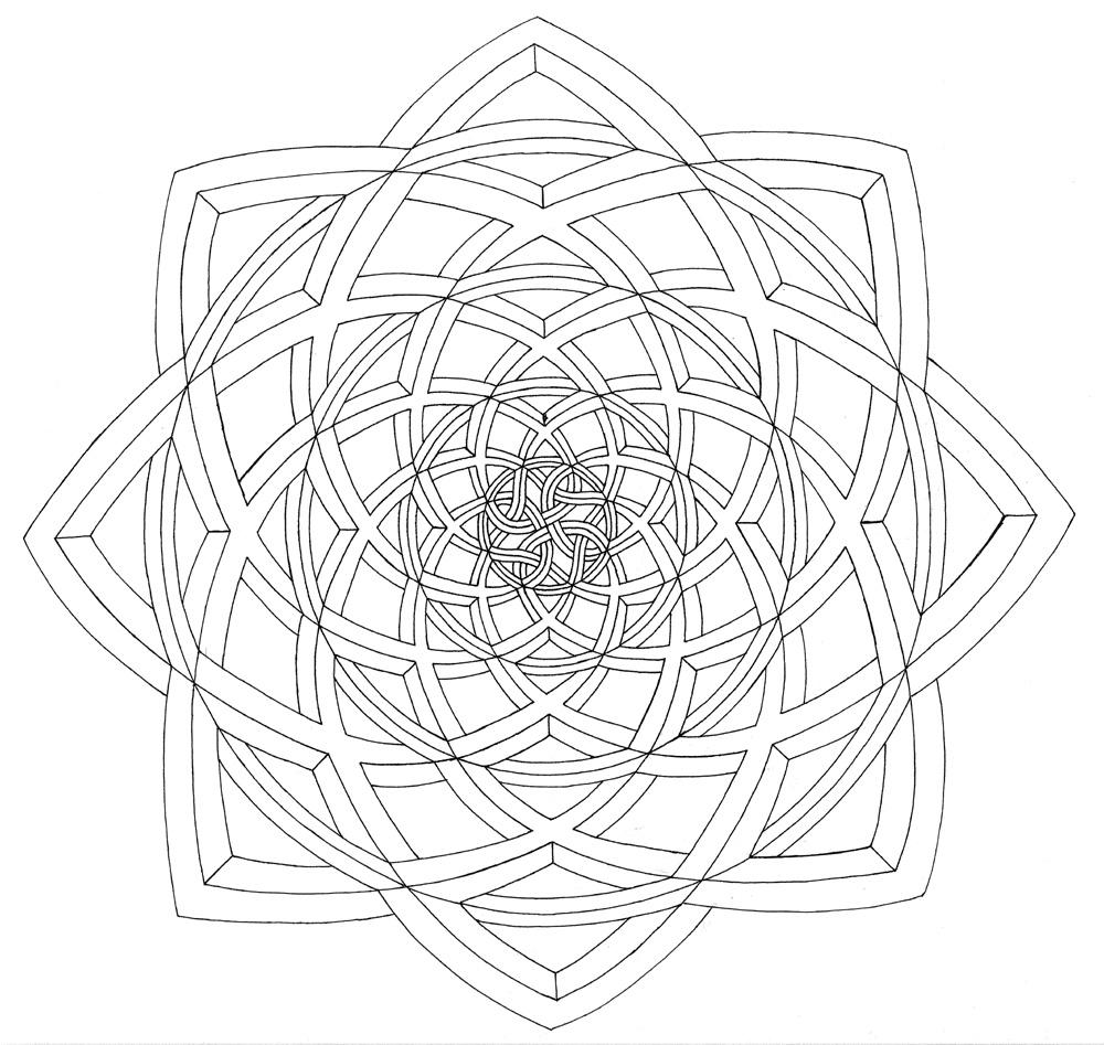3d Illusion Coloring Pages - Bltidm