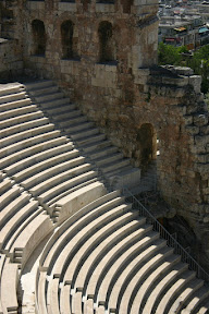 Seating of the Theatre of Herodes Atticus, Athens