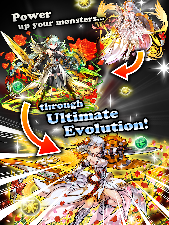 Puzzle & Dragons: captura de tela