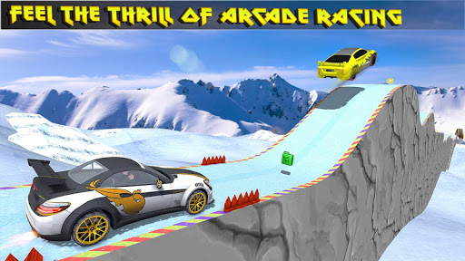 Turbo Car Rush: Mountain stunt Driver 1.4 screenshots 2