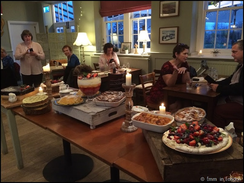 Pudding Night at the Secret Garden Kent