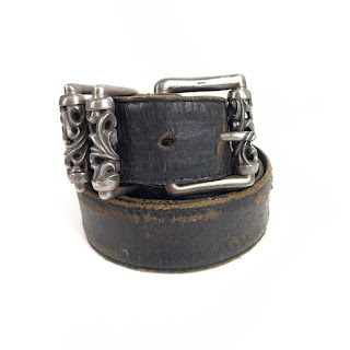 Chrome Hearts Sterling Silver Belt Buckle