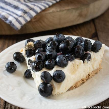 Angela's pick, Blueberry Cream Pie!
