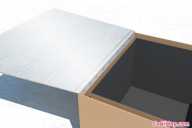 Sử dụng giấy bạc bọc các tấm tập trung năng lượng mặt trời