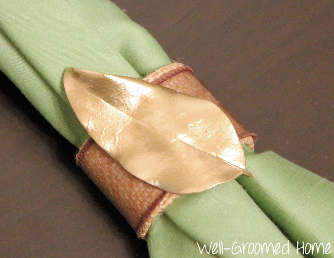 handmade napkin rings