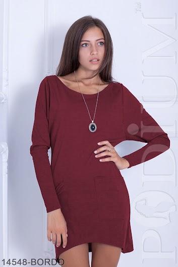 44ae422287e Женское платье Toddalia (14548-BORDO) - VK-Podium