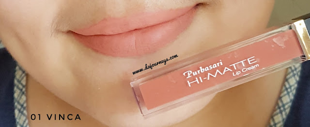 Review Purbasari Hi-Matte Lip Cream Vinca