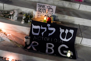 Uma homenagem a Ruth Bader Ginsburg