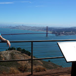 hawk hill has the best view of San Francisco in San Francisco, California, United States