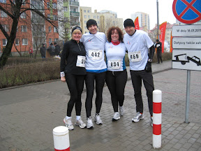 Bieg o Puchar Bielan i Bieg Chomiczówki 2011.01.16, Warszawa