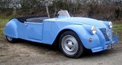Citroën 1953 2 CV Barbot Spéciale