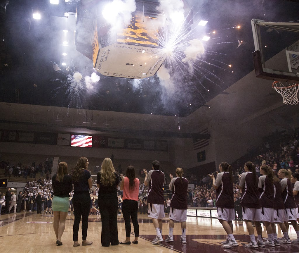 Dahlberg Arena in Missoula, Mont., March 16th, 2013.