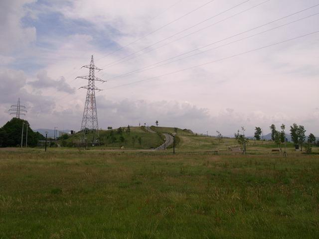 岩手県立美術館小高い丘