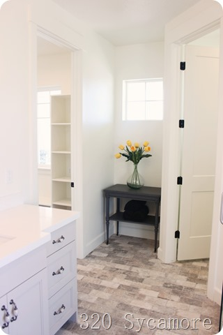 fixer upper bathroom nook