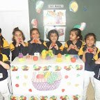 Fruit Market and Fruit Salad Day Sr.KG.