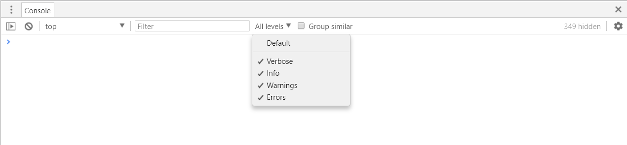 Help my Console is Broken since v64 - Google Groups