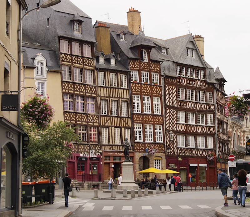 Old town Rennes