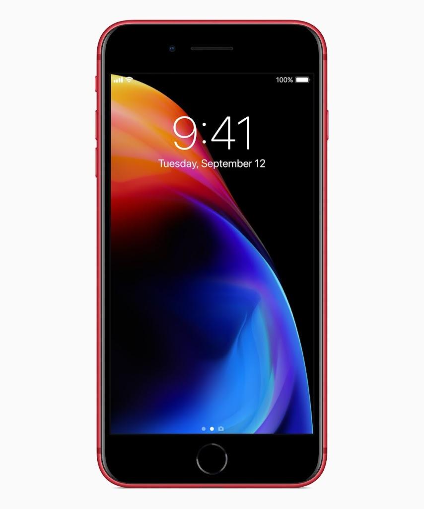 Iphone 8 8 Plus Product Redの壁紙がダウンロード可能に こぼねみ