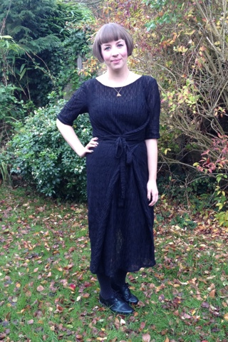 Kielo Wrap Dress With Sleeves The Magnificent Thread