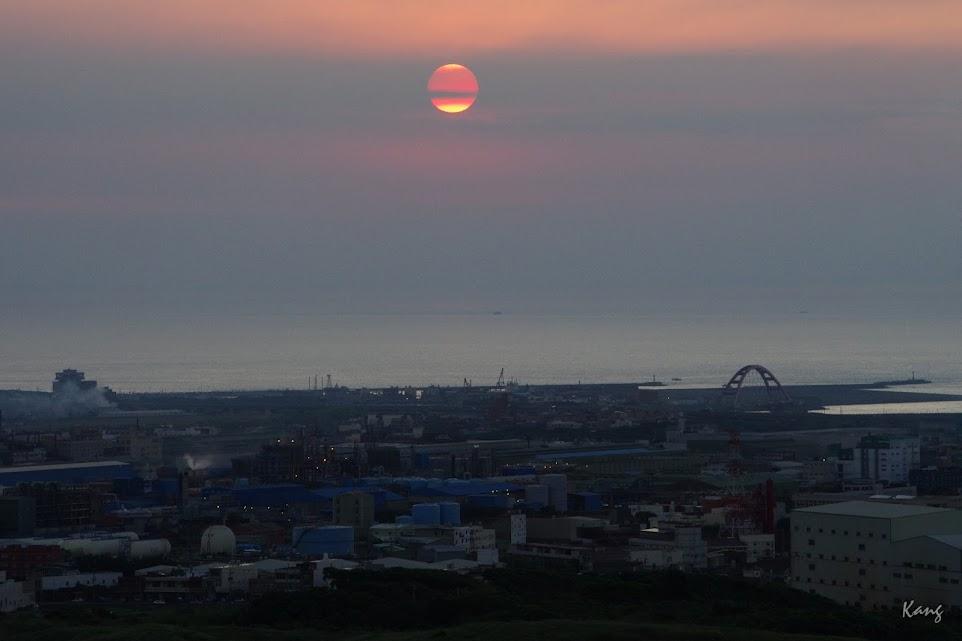 海灣‧夕景