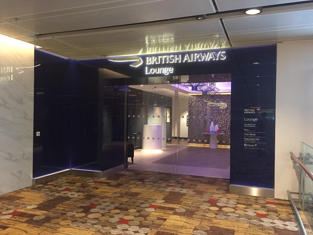 British Airways ラウンジ (シンガポール・チャンギ空港)