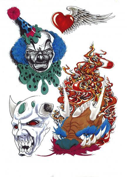 Magical Tattoo Design, Fantasy Tattoo Designs