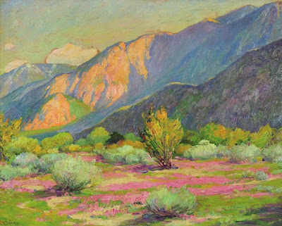 """Sand Verbena- The Desert at Palm Springs"""
