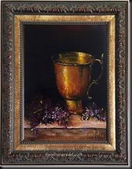 Lilacs Framed