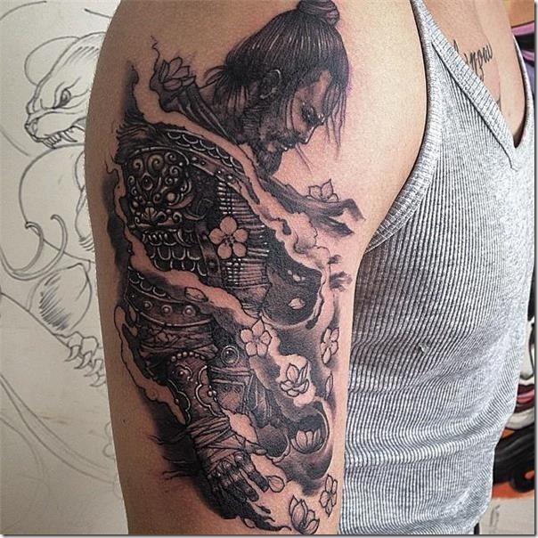 Tatuajes De Samurais Tatuajes247