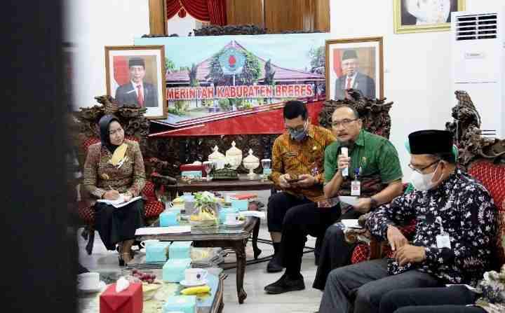 Kemendes PDTT, Tuntaskan Kemiskinan Ekstrem Di Brebes 2024..