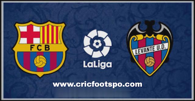 Laliga : Barcelona Vs Levante Match Preview, Line Up, Match Info