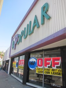 Beautiful The Signs Painted On The Windows Of La Popular Furniture In Echo Park Read  U201cLost Our Leaseu201d And U201cEverything Must Go.u201d Inside The Sunset Boulevard Store,  ...