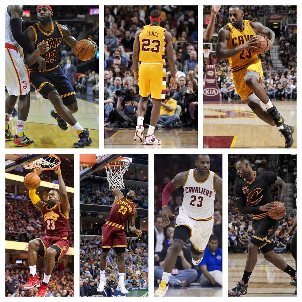 7546c6c102c Every Nike LeBron 13 That King James Wore This Season… Part 1