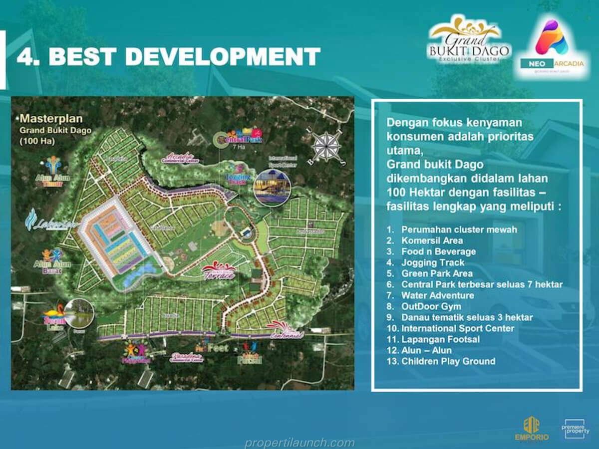 Master Plan Grand Bukit Dago