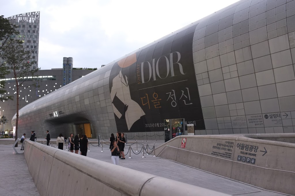 Dongdaemun Design Plaza by Zaha Hadid and Samoo