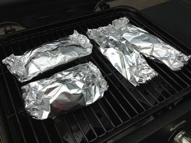 Healthy home revolution grilled fish in foil packets for Grill fish in foil