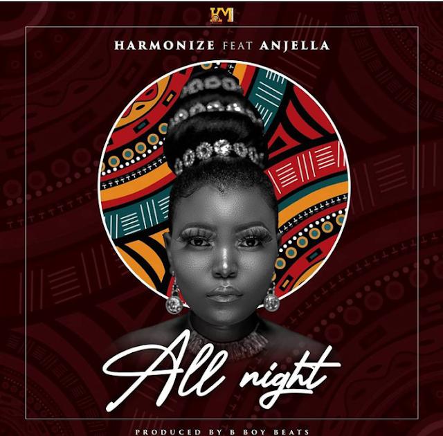 Audio: Harmonize ft Anjella - All Night || Download Mp3